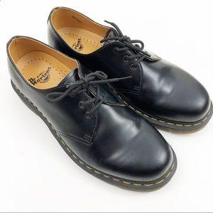 Dr. Martens 3 Eye Black Oxford Leather Shoes